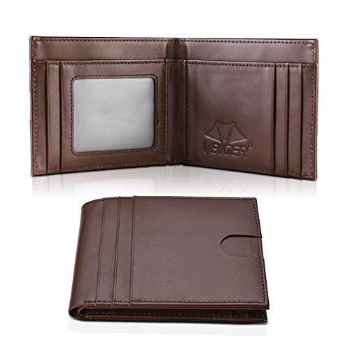 Billetera de piel con protección RFID 10