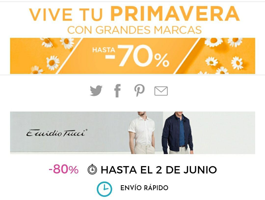 HASTA - 70% en primeras marcas