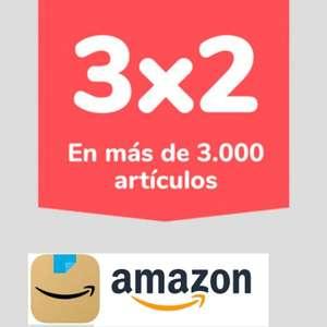 Nueva promoción 3x2 en decenas de artículos en Amazon