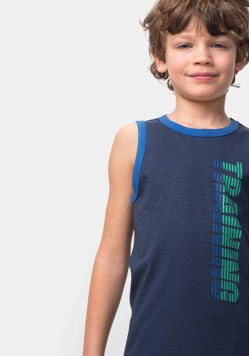2 Camisetas sin mangas de deporte para Niño TEX (talla 2/3A)