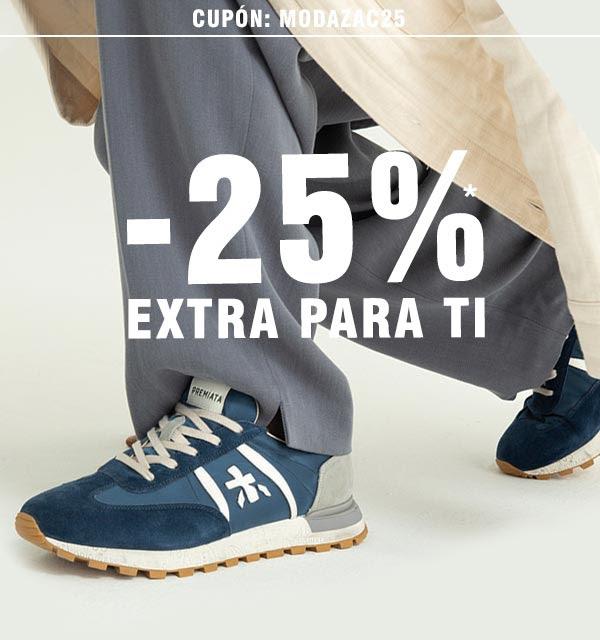 ZACARIS - 25% EXTRA DE DESCUENTO - ** ACUMULABLE HASTA EL 50% DEL PRECIO INICIAL