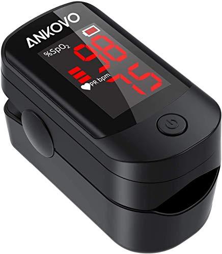 Pulsioxímetro de Punta de Dedo, Monitor de Saturación de Oxígeno en la Sangre para la Frecuencia del Pulso y el Nivel de SpO2