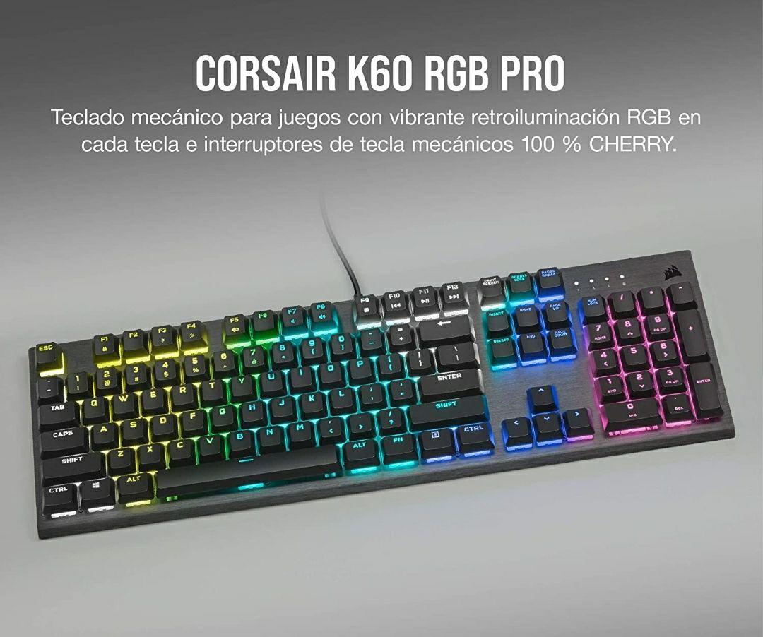 Corsair K60 RGB Pro Teclado Mecánico