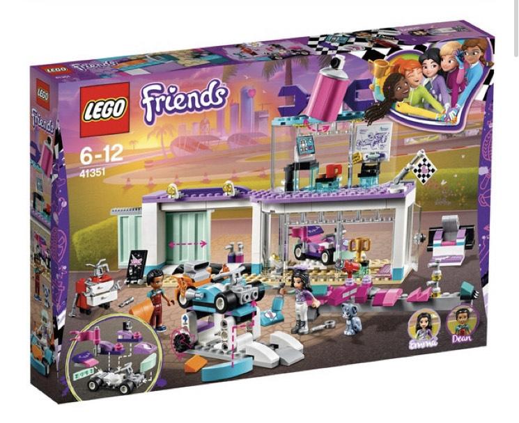 LEGO Taller de tuneo creativo Lego Friends