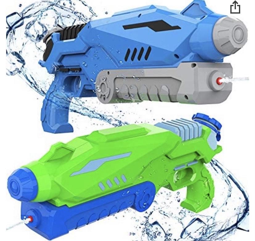 Pistola de Agua 800ML x 2
