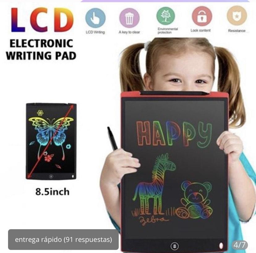 Pizarra electrónica 8,5 pulgadas con pantalla LCD