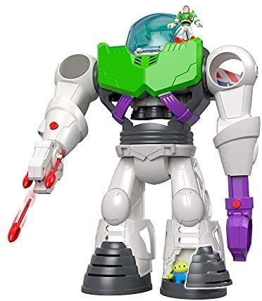 Fisher-Price Price Imaginext Disney Toy Story 4 Robot Buzz Lightyear,