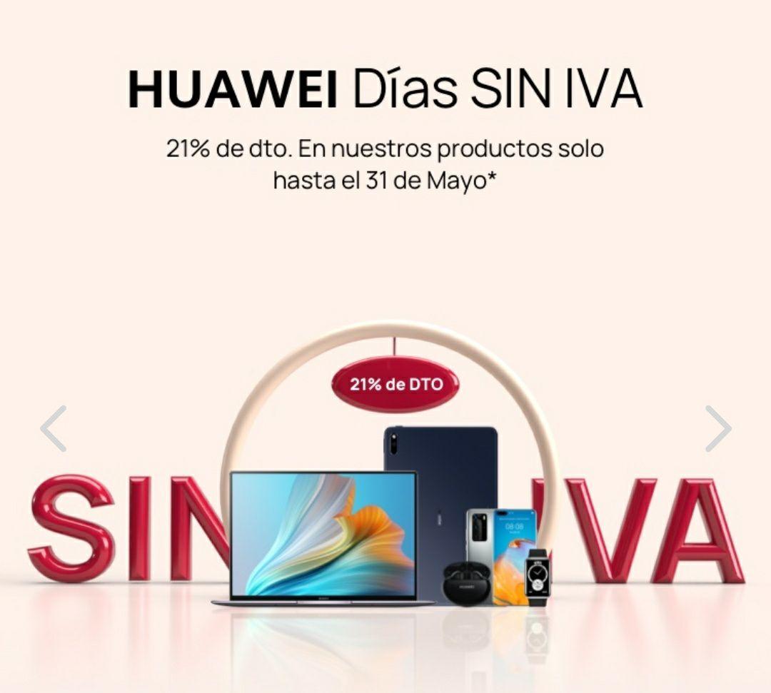 Días sin IVA en huaweii