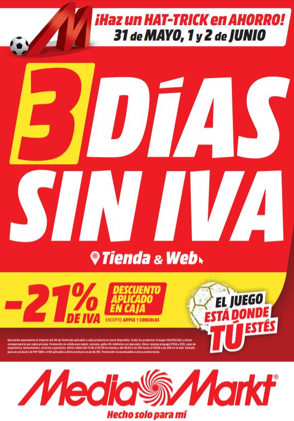 3 Días Sin IVA - Mediamarkt
