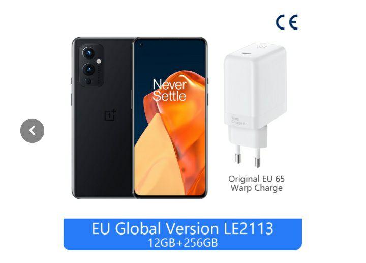 OnePlus 9 5G 12GB ram- 256 rom (EU Global Versión)