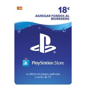 18€ para la Playstation Store