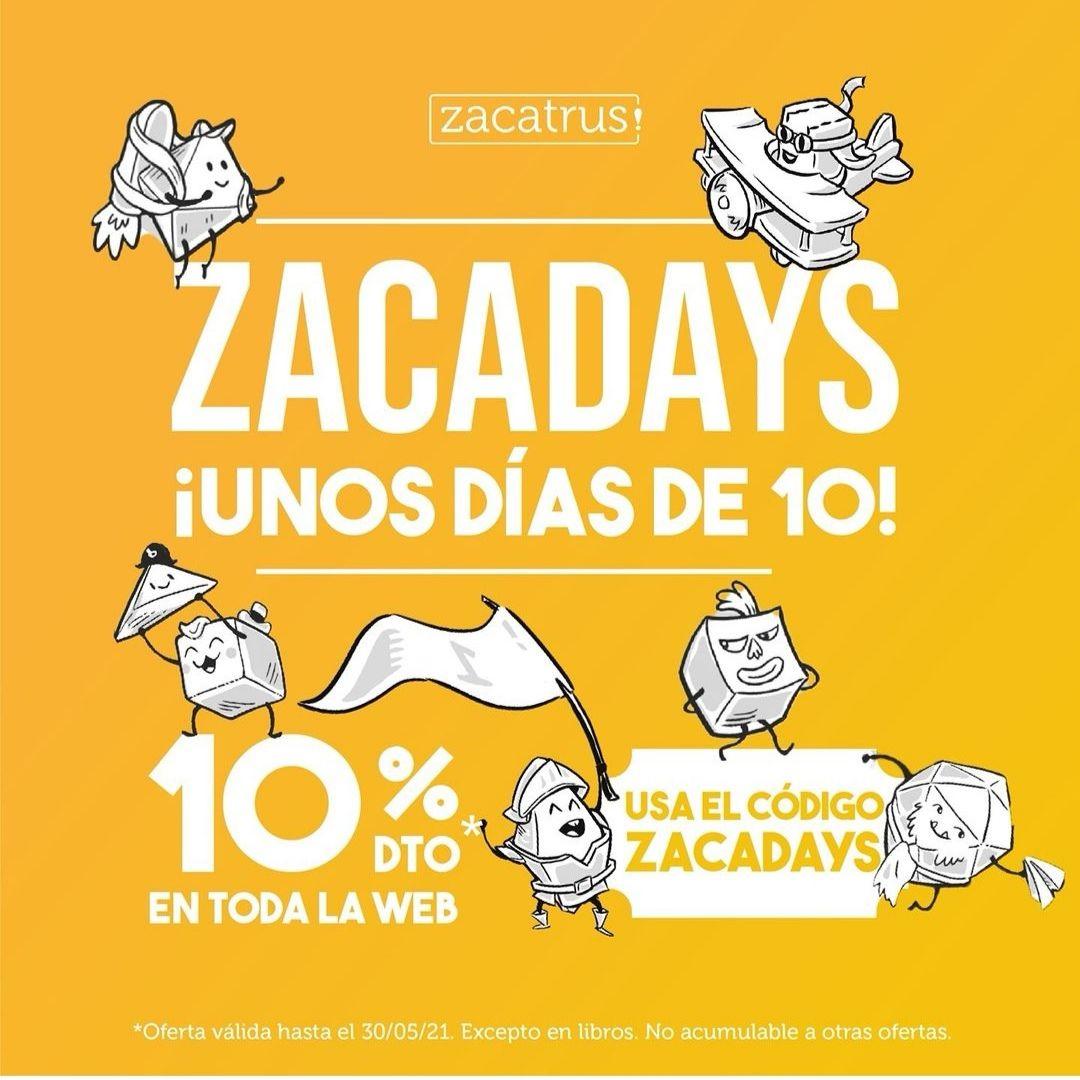 10% en todo ZACATRUS