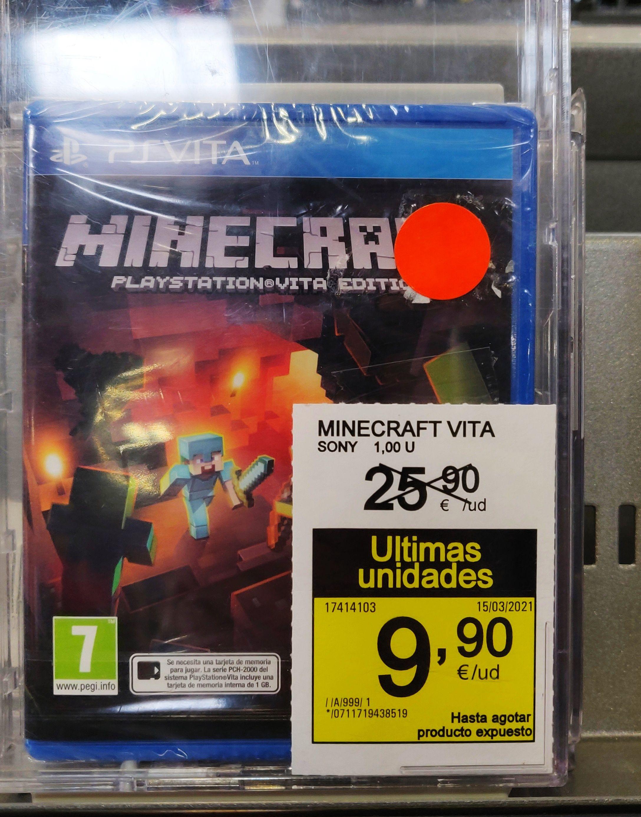 Minecraft PS Vita (Eroski Ballonti)