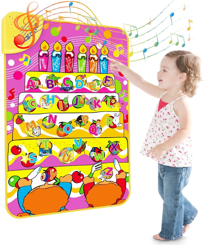 Juguete de Aprendizaje del Alfabeto, Educativo de Alfombra Musical