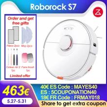 Roborock-Robot aspirador S7 coger cupón del vendedor de 29€ DESDE ESPAÑA.