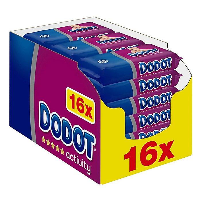 Pack de 16 Toallitas Activity Recambio - 864 uds - 0,02 €/Ud.