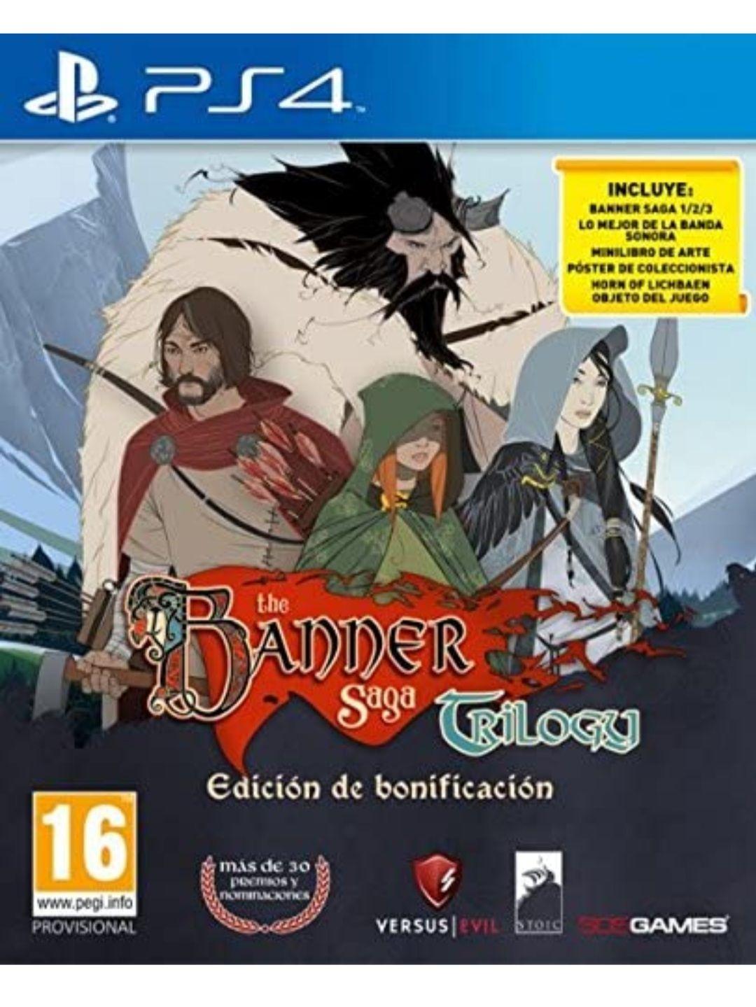The Banner Saga Trilogy (PS4)