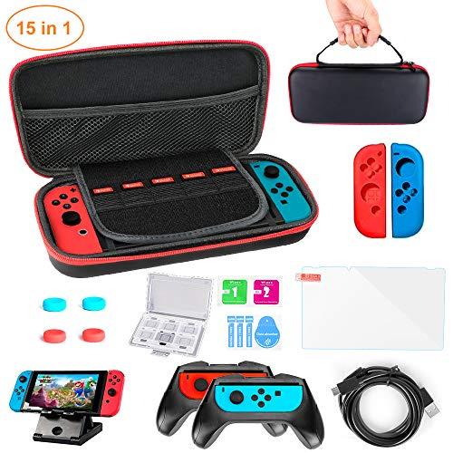 Kit de Accesorios Nintendo Switch 15 en 1