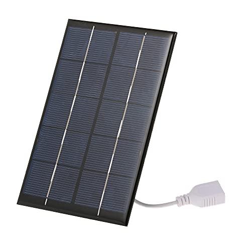 Cargador Solar portátil con Puerto USB 2.5W / 5V.
