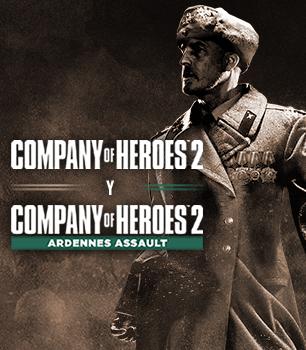 STEAM :: Quédate GRATIS Company of Heroes 2 + Ardennes Assault + Case Blue Mission Pack y DLC Deadly Maze