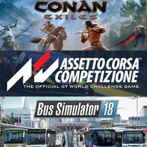 STEAM :: Juega GRATIS Conan Exiles, Assetto Corsa Competizione, Iron Conflict, Bus Simulator 18, Due Process