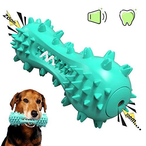 Juguete limpiable y masticable para Perros con función de Cepillo de Dientes para Perros