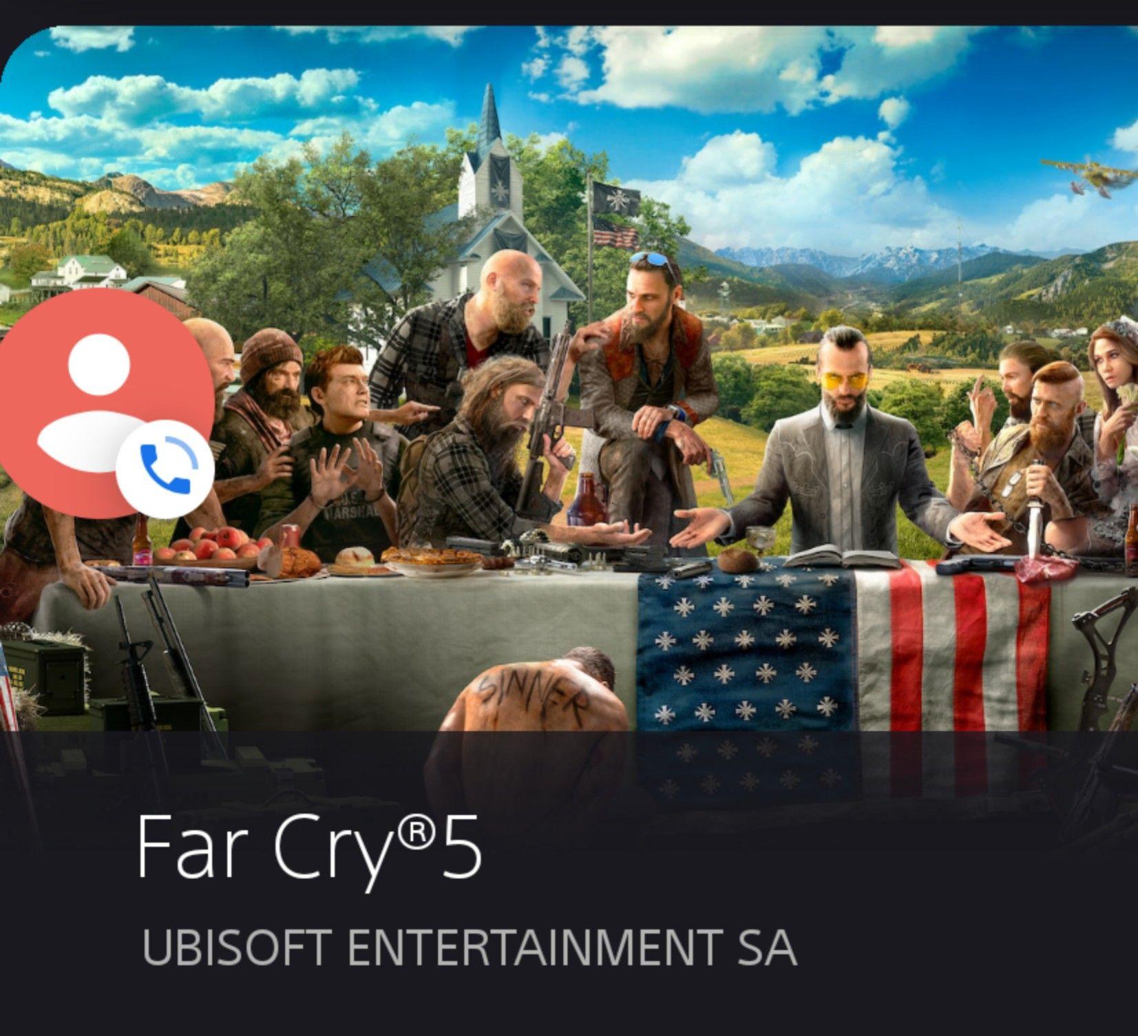 Far Cry 5 Playtation 4