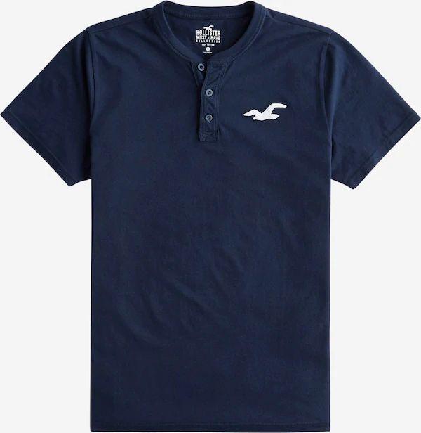 Camiseta abotonada Hollister. Tallas S a L.