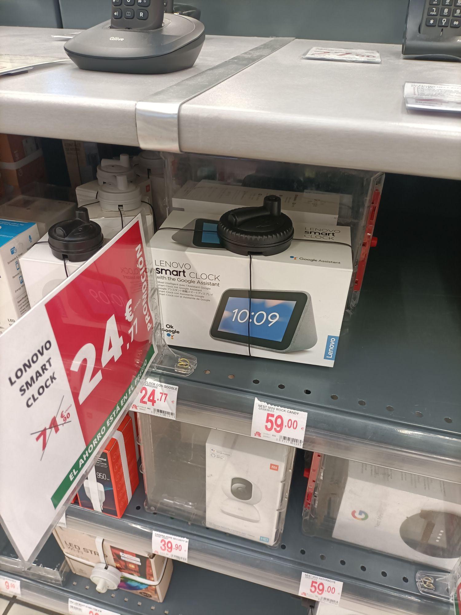 Lenovo Smart Clock (Alcampo Toledo)