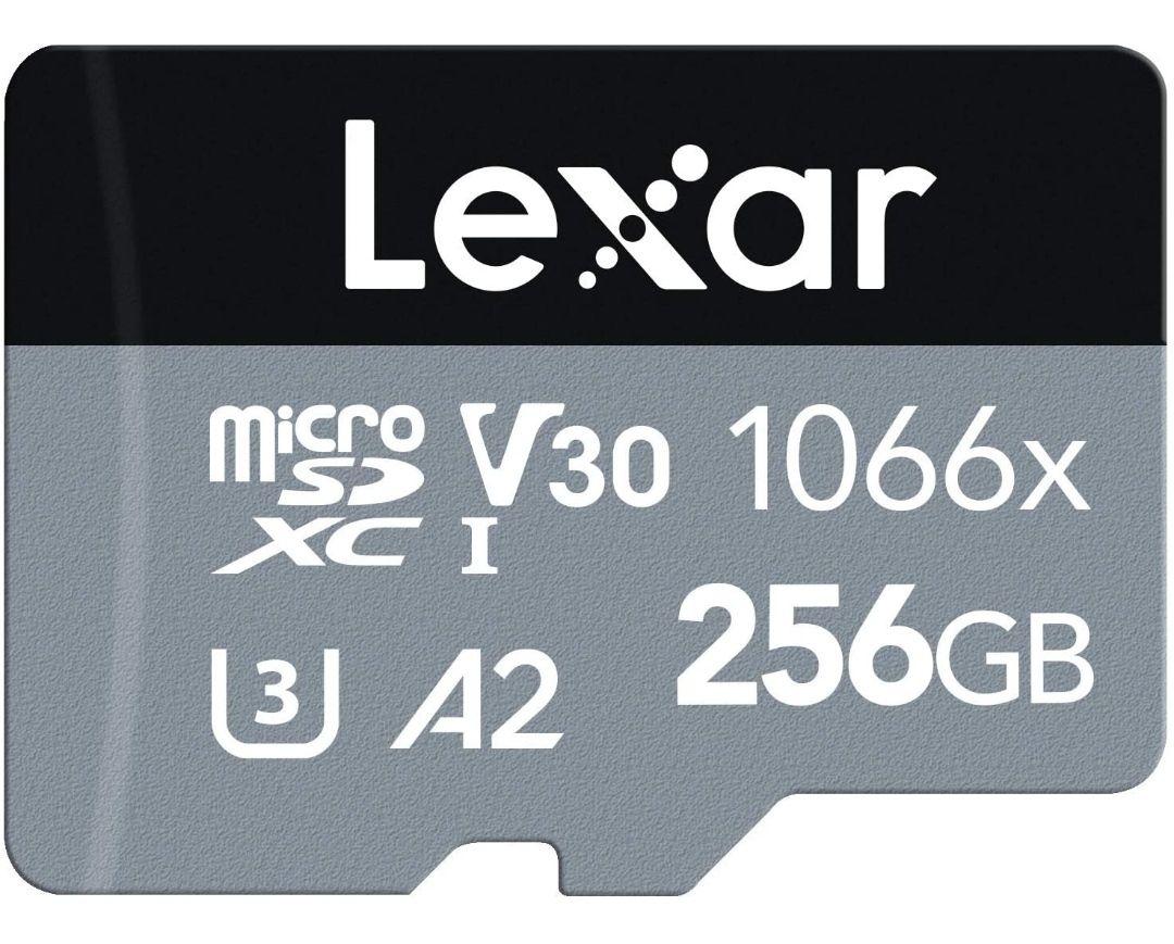 Tarjeta Microsd de alta velocidad 256GB (160 Megas por segundo)