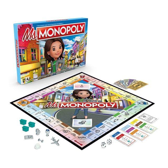 Ms Monopoly, el monopoly de la sobrina del señor monopoly