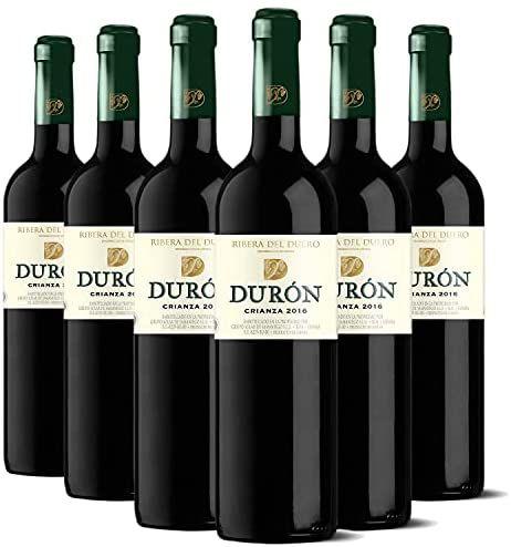 Durón Vino Tinto Crianza 2016 6 botellas