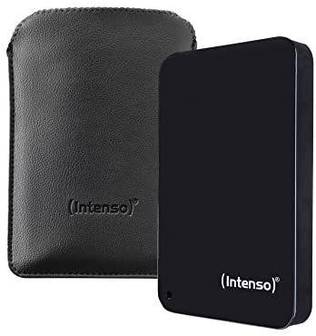 Intenso - Unidad de Disco Duro Externa (1 TB, USB 3.0, portátil) Color Negro