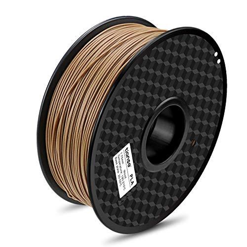Filamento PLA 1Kg efecto madera