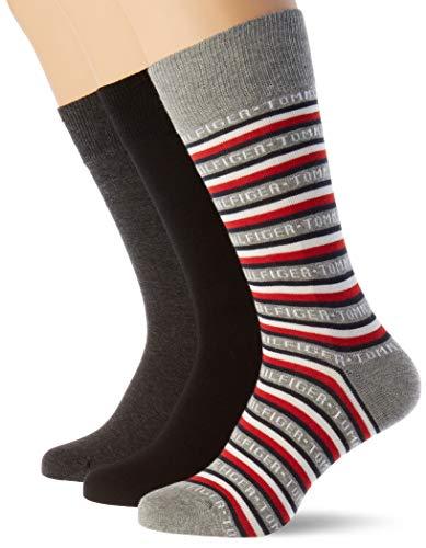 Tommy Hilfiger calcetines (Pack de 3) para Hombre (39-42)