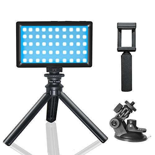 RGB Luz de Video Portable 3200K-5600K con Batería de Incorporada