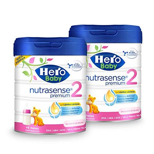 2x Hero Baby Nutrasense Premium 2