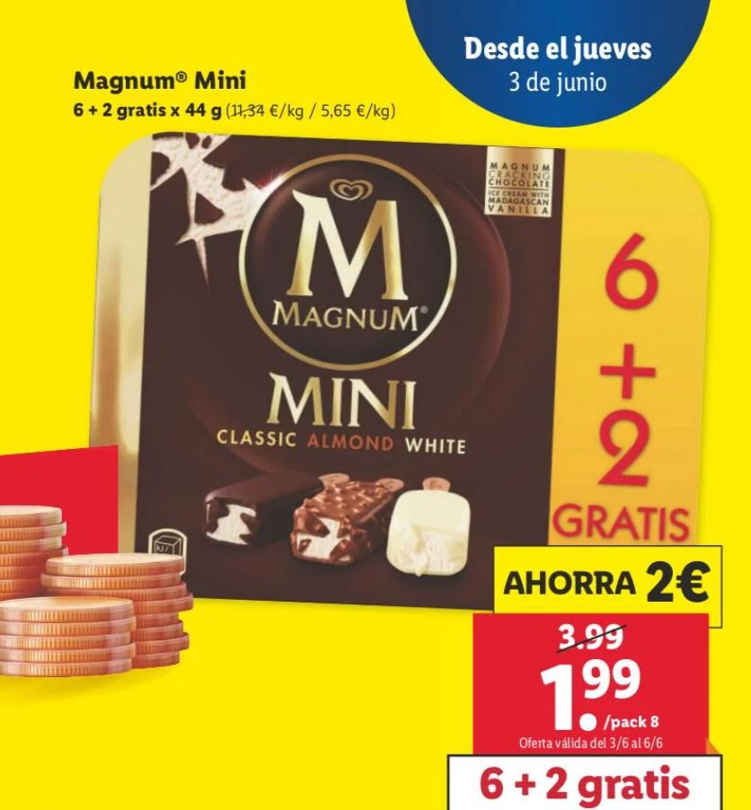 Helados Magnum Mini 6+2