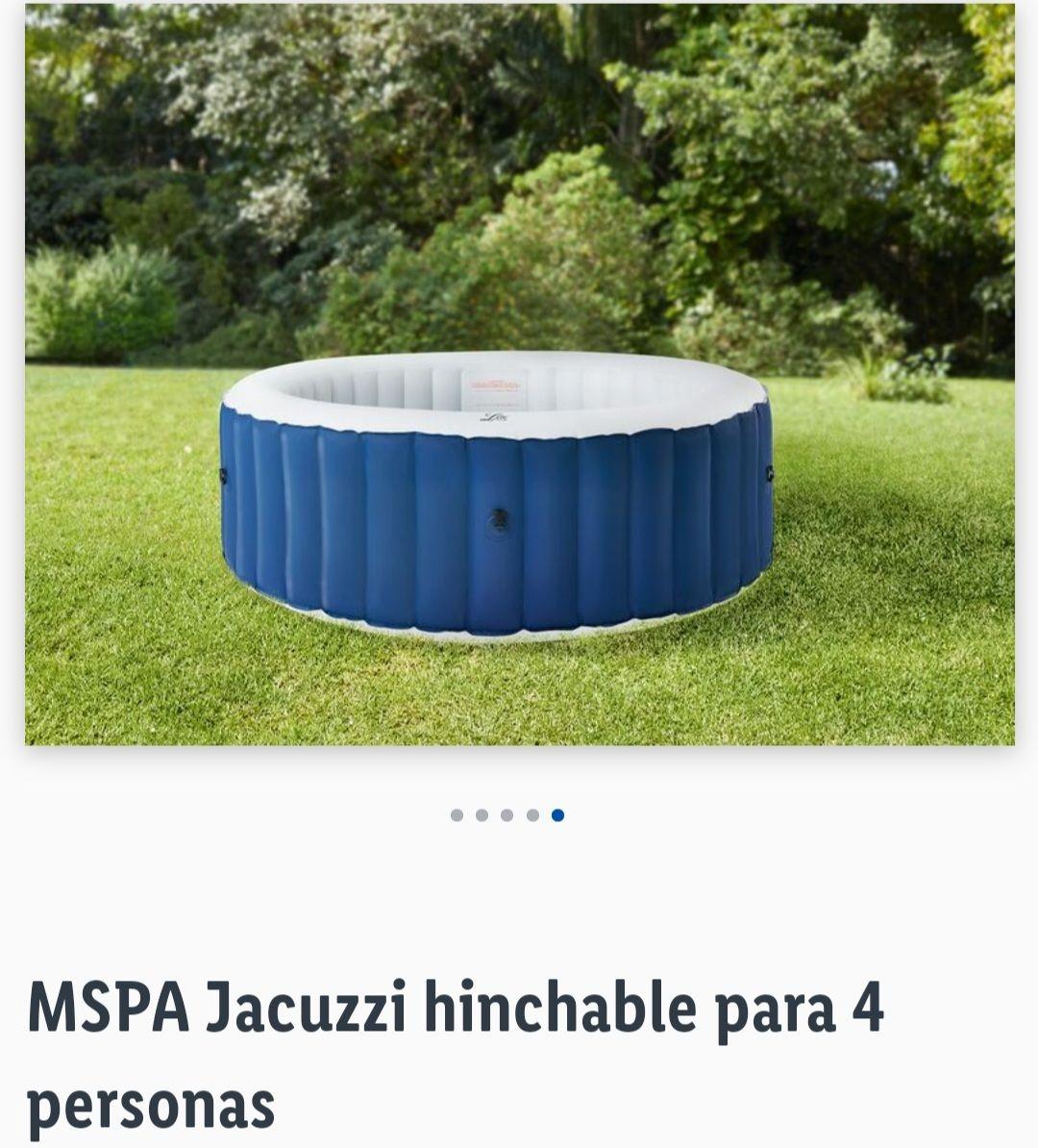 MSPA Jacuzzi hinchable para 4 personas