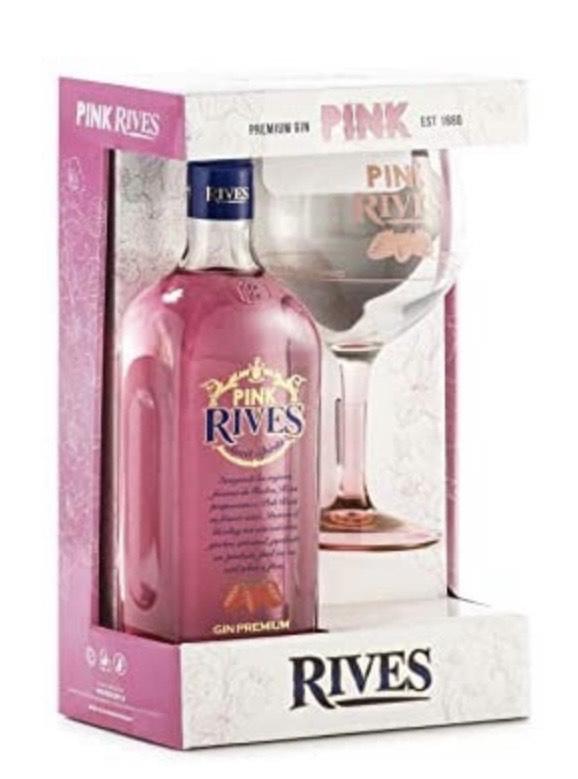 Rives Pink Sweet Spirits Gin Premium con copón- 700 ml