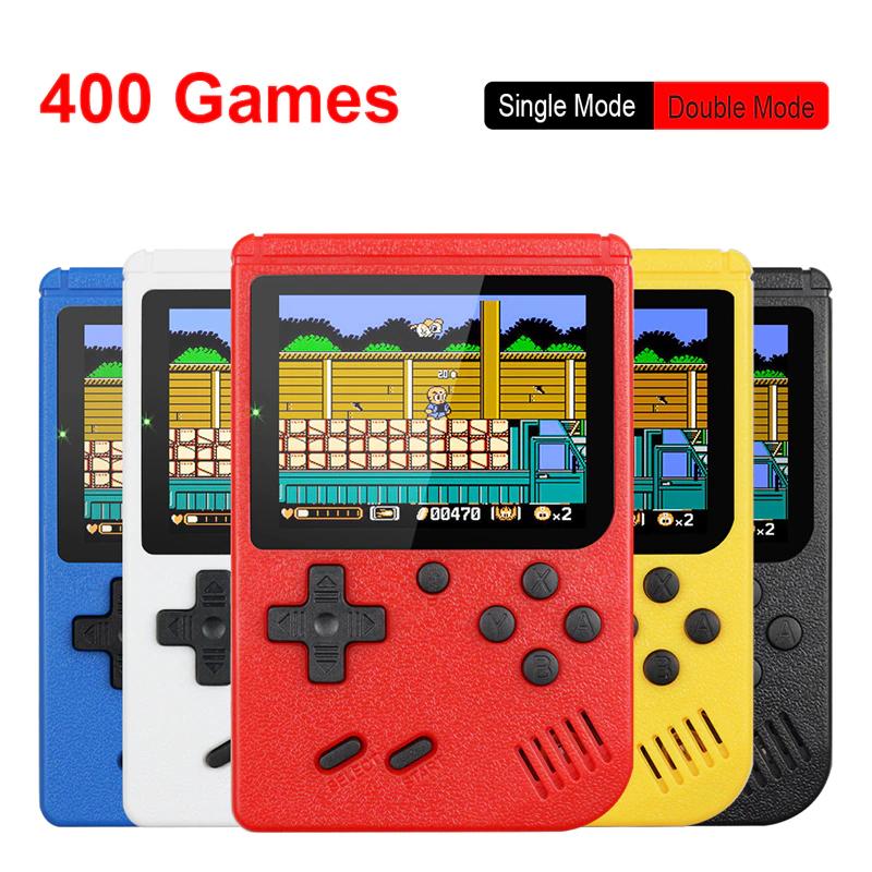 Miniconsola Portátil Retro (400 Juegos)