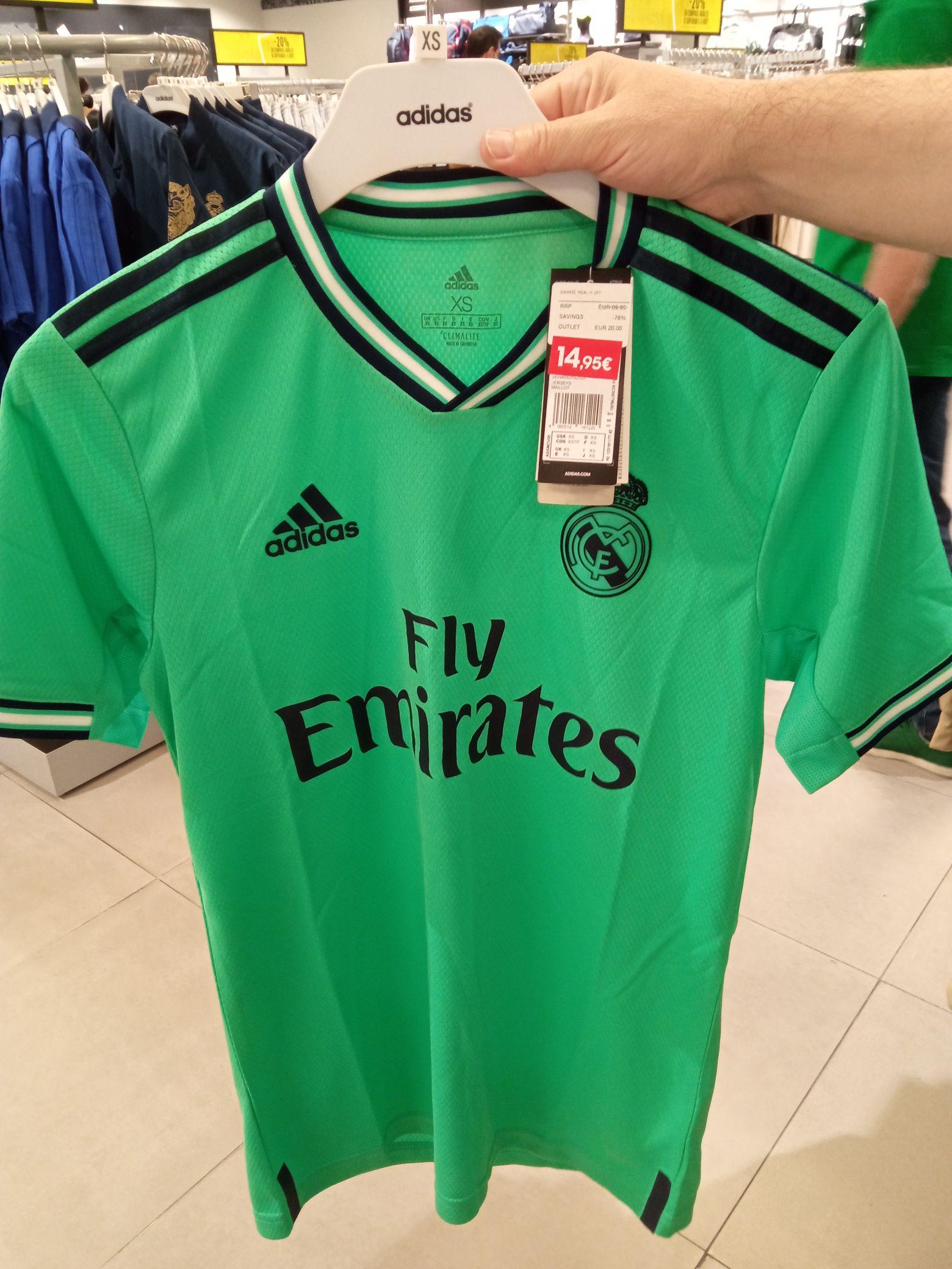 2ª equipación Real Madrid 19/20 Original (Outlet Adidas)