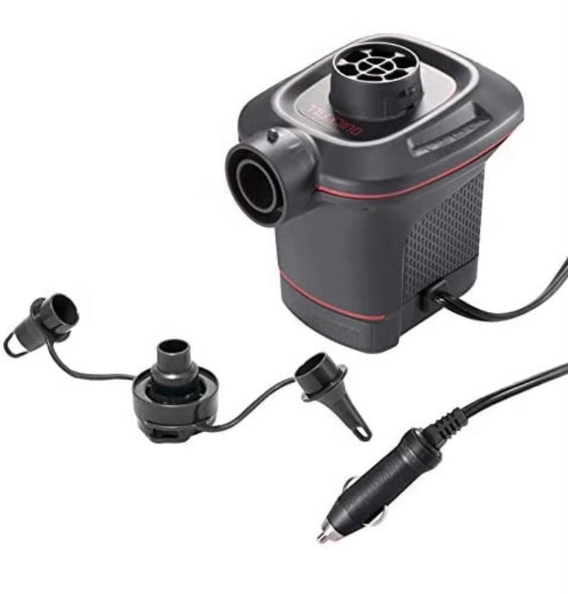 Intex 66636 - 2 Hinchadores eléctricos con adaptador para coche 12V Quick Fill (comprando 2 unidades)