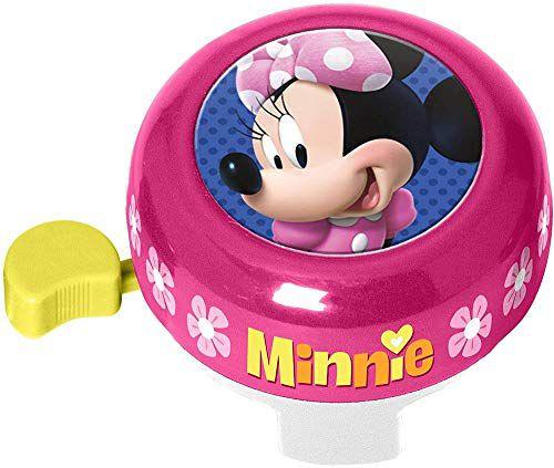 Stamp- Bell Minnie, Color Rosa (timbre bicicleta infantil)