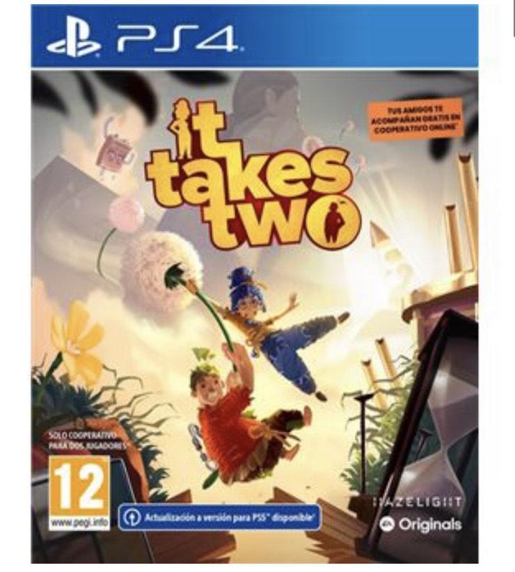 It takes two PS4 XBOX PC- tiendas fisicas