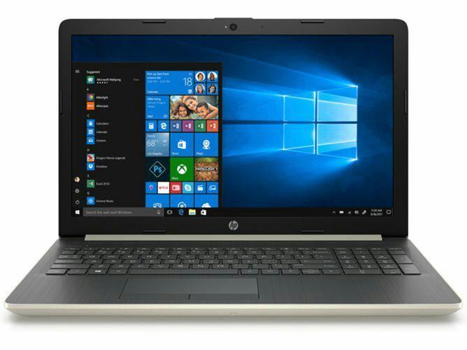 Portátil 15,6'' HP DA0063NSI5 Oro Pálido ( i5-8250U, 12 GB RAM, 256 GB SSD, nVidia GeForce MX )
