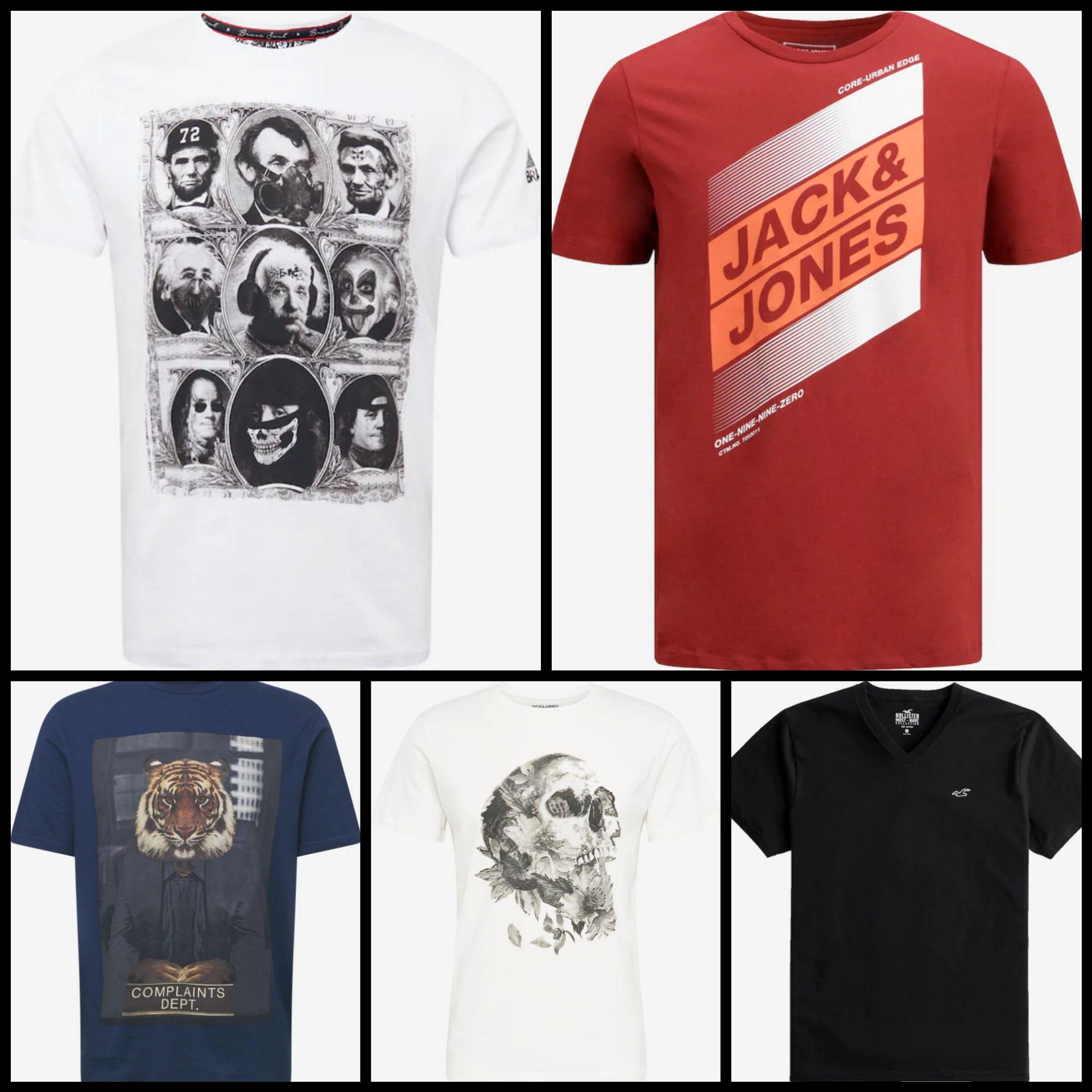 Recopilación Camisetas para Hombre por menos de 10€ ( + de 50 Modelos)