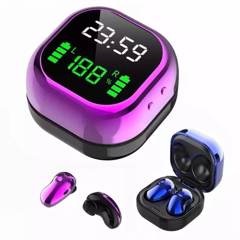 Auriculares inalámbricos con Bluetooth 5,1, dispositivo deportivo resistente al agua, S6