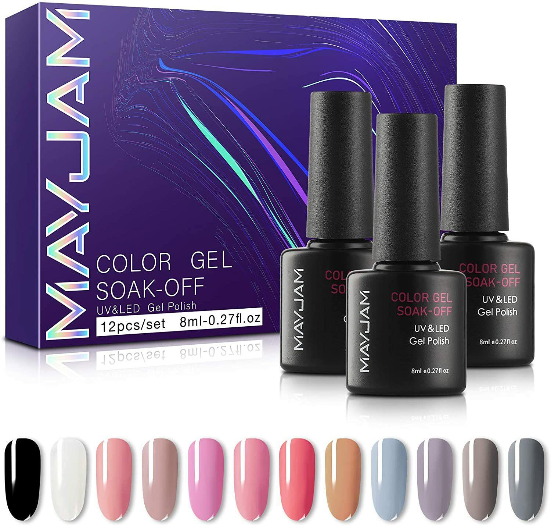Esmalte de Uñas de Gel UV LED 12 Colores