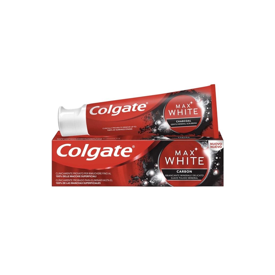 Colgate Max White Carbon | -0,68€ al Tramitar + Compra Recurrente
